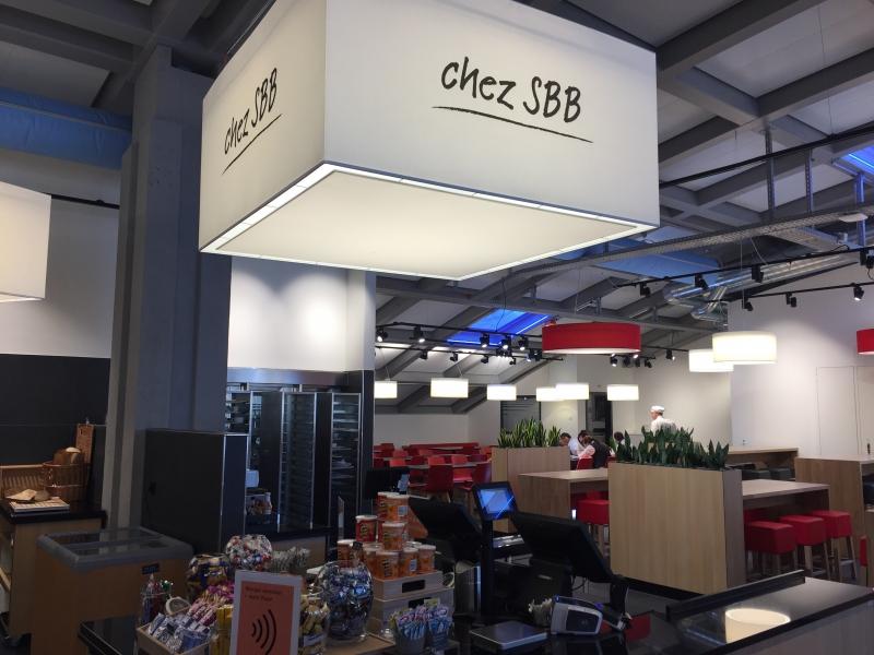 Umbau Restaurant Oase am Hauptbahnhof Zürich
